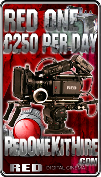 RED One Kit hire - just £250 per day!
